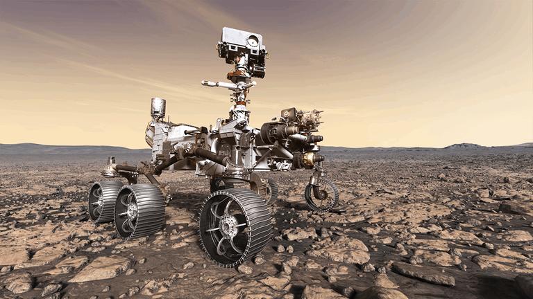 Robots in de ruimte